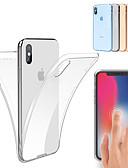 baratos Capinhas para iPhone-Capinha Para Apple iPhone 11 / iPhone 11 Pro / iPhone 11 Pro Max Antichoque / Ultra-Fina / Transparente Capa Proteção Completa Sólido Macia TPU