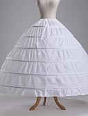 povoljno Stare svjetske nošnje-Petticoat kratka baletska suknja Pod suknjom 1950-te Pamuk Zelen Plava Fuschia Petticoat / Krinolina
