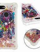ราคาถูก เคสสำหรับ iPhone-Case สำหรับ Google Google Pixel 3 / Google Pixel 3 XL Shockproof / Flowing Liquid / Transparent ปกหลัง จับฝัน / Glitter Shine Soft TPU
