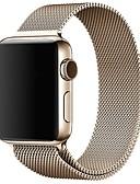 baratos Bandas de Smartwatch-Pulseiras de Relógio para Apple Watch Series 4/3/2/1 Apple Pulseira Estilo Milanês Aço Inoxidável Tira de Pulso