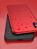 ราคาถูก เคสสำหรับ iPhone-Case สำหรับ Apple iPhone XS / iPhone XR / iPhone XS Max Shockproof / Ultra-thin / Frosted ตัวกระเป๋าเต็ม สีพื้น Hard พีซี