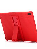 ราคาถูก กรณีอื่น ๆ-Case สำหรับ Lenovo Lenovo Tab 4 8 Plus / Lenovo Tab 4 8 / Lenovo Tab 4 10 Plus Shockproof / with Stand ปกหลัง สีพื้น Soft ซิลิโคน
