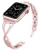 billiga Smartwatch-fodral-Klockarmband för Apple Watch Series 5/4/3/2/1 Apple Smyckesdesign Rostfritt stål Handledsrem