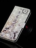 ราคาถูก เคสสำหรับโทรศัพท์มือถือ-Case สำหรับ Samsung Galaxy J7 (2017) / J7 (2018) / J6 Wallet / Card Holder / with Stand ตัวกระเป๋าเต็ม หอไอเฟล Hard หนัง PU