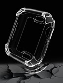 billige Samsung-tilbehør-Etui Til Apple Apple Watch Series 4/3/2/1 Gummi Apple