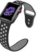 billige Smartwatch Bands-Klokkerem til Apple Watch Series 5/4/3/2/1 Apple Klassisk spenne Silikon Håndleddsrem