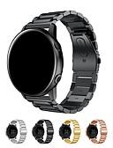 billige Smartwatch Bands-Klokkerem til Samsung Galaxy Watch 42 Samsung Galaxy Klassisk spenne Rustfritt stål Håndleddsrem