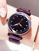 ราคาถูก เข็มขัดแฟชั่น-สำหรับผู้หญิง นาฬิกาข้อมือ นาฬิกาทอง นาฬิกาอิเล็กทรอนิกส์ (Quartz) สแตนเลส ดำ / ฟ้า / ม่วง 30 m กันน้ำ ดีไซน์มาใหม่ ระบบอนาล็อก วิบวับ แฟชั่น - สีม่วง ฟ้า Rose Gold