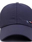 ราคาถูก หมวกสุภาพบุรุษ-ทุกเพศ สีพื้น เส้นใยสังเคราะห์ พื้นฐาน-หมวกเบสบอล เทาเข้ม สีน้ำเงินกรมท่า เทาอ่อน