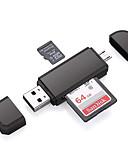 זול טישרטים לגופיות לגברים-OTG מיקרו USB USB 2.0 כרטיס הקורא כרטיס tf כרטיס מיקרו SD sd כרטיס עבור מחשב נייד smartphone