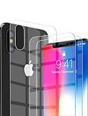 povoljno Zaštitne folije za iPhone-AppleScreen ProtectoriPhone XS Visoka rezolucija (HD) Prednja zaštitna folija 2 kom Kaljeno staklo