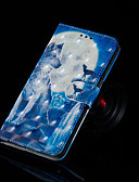 ราคาถูก เคสสำหรับโทรศัพท์มือถือ-Case สำหรับ Huawei Huawei Nova 3i / Huawei Honor 9 Lite / Huawei Honor 8X Wallet / Card Holder / with Stand ตัวกระเป๋าเต็ม สัตว์ Hard หนัง PU