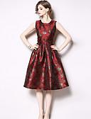 povoljno Print Dresses-Žene Boho Sofisticirano Korice Haljina - Print, Cvjetni print Do koljena