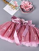 ราคาถูก ชุดเดรสวินเทจ-Petticoat ตูตู ภายใต้กระโปรง 1950s เลื่อม สีบานเย็น Petticoat / สำหรับเด็ก / กระโปรงผายก้น