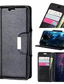 ราคาถูก เคสสำหรับโทรศัพท์มือถือ-Case สำหรับ Apple iPhone XS / iPhone XR / iPhone XS Max Wallet / Card Holder / Shockproof ตัวกระเป๋าเต็ม สีพื้น Hard หนัง PU