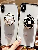 Χαμηλού Κόστους Προστατευτικά Οθόνης για Samsung-tok Για Apple iPhone 8 Plus / iPhone 7 Plus με βάση στήριξης / Εξαιρετικά λεπτή / Με σχέδια Πίσω Κάλυμμα Λουλούδι Μαλακή TPU