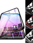 baratos Acessórios para Samsung-Capinha Para Samsung Galaxy S9 / S9 Plus / S8 Plus Magnética Capa Proteção Completa Sólido Rígida Vidro Temperado