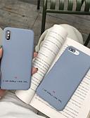 povoljno Maske za mobitele-slučaj za vrući model jabuka iphone xr / iphone xs max uzorak natrag poklopac riječ / izraz meko tpu za iphone 6 6 plus 6s 6s plus 7 8 7 plus 8 plus x xs xr xs max