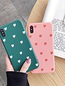 ราคาถูก เคสสำหรับ iPhone-กรณีสำหรับ apple iphone xr / iphone xs รูปแบบสูงสุด / f rosted ปกหลังหัวใจ / กระเบื้อง soft tpu สำหรับ iphone x / xs / 6/6 บวก / 6 วินาที / 6 วินาทีบวก / 7/7 บวก / 8/8 บวก