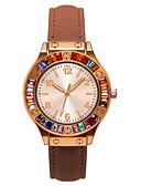 ราคาถูก นาฬิกาดิจิตอลสตรี-สำหรับผู้หญิง นาฬิกาควอตส์ นาฬิกาอิเล็กทรอนิกส์ (Quartz) กีฬา สไตล์ PU Leather แดง / เขียว / เทา 30 m นาฬิกาใส่ลำลอง น่ารัก ระบบอนาล็อก ไม่เป็นทางการ แฟชั่น - สีม่วง สีเขียวอ่อน กุหลาบแดง / หนึ่งปี