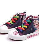 billiga Fodral och omslag-Flickor Komfort Kanvas Sneakers Småbarn (9m-4ys) / Lilla barn (4-7år) / Stora barn (7 år +) Mörkblå / Ljusblå Vår