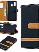 ราคาถูก เคสซัมซุง-Case สำหรับ Samsung Galaxy A6 (2018) / A6+ (2018) / Galaxy A7(2018) Wallet / Card Holder / with Stand ตัวกระเป๋าเต็ม Tile Hard สิ่งทอ
