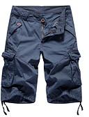 ราคาถูก กางเกงผู้ชาย-สำหรับผู้ชาย พื้นฐาน กางเกง Chinos กางเกง - สีพื้น อาร์มี่ กรีน สีกากี เทาอ่อน XXL XXXL XXXXL