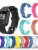 ราคาถูก วง Smartwatch-สายนาฬิกา สำหรับ Fitbit Versa Fitbit สายยางสำหรับเส้นกีฬา ยางทำจากซิลิคอน สายห้อยข้อมือ