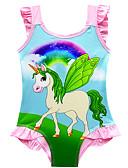 ราคาถูก คอสเพลย์ชุดว่ายน้ำ-ชุดว่ายน้ำ ชุดว่ายน้ำชุดคอสเพลย์ สาวบี สำหรับเด็ก คอสเพลย์และคอสตูม คอสเพลย์ วันฮาโลวีน สีม่วง / สีบานเย็น / สีชมพู Unicorn การ์ตูน Printing วันคริสต์มาส วันฮาโลวีน เทศกาลคานาวาล