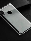 baratos Capinhas para Xiaomi-Capinha Para Xiaomi Redmi Note 5A / Xiaomi Redmi Note 5 Pro / Xiaomi Redmi Note 4X Antichoque / Transparente Capa traseira Transparente Macia TPU / Xiaomi Redmi 4A