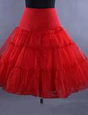 povoljno Vintage kraljica-Balet Classic Lolita 1950-te Haljine Petticoat Krinolina Žene Djevojčice Til Kostim Crn / Obala / Srebrna Vintage Cosplay Vjenčanje Party Princeza