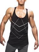 ราคาถูก เสื้อยืดและเสื้อกล้ามผู้ชาย-สำหรับผู้ชาย เสื้อเชิร์ต คอกลม เพรียวบาง สีพื้น สีดำ