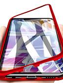 ราคาถูก เคสสำหรับโทรศัพท์มือถือ-Case สำหรับ Huawei Huawei Mate 20 lite / Huawei Mate 20 pro / Huawei Mate 20 Magnetic ตัวกระเป๋าเต็ม สีพื้น Hard แก้วไม่แตกกระจาย
