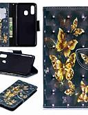 ราคาถูก เคสซัมซุง-Case สำหรับ Samsung Galaxy A6 (2018) / A6+ (2018) / Galaxy A7(2018) Wallet / Card Holder / with Stand ตัวกระเป๋าเต็ม Butterfly Hard หนัง PU