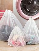 billige Baderomsgadgeter-klær netting poser glidelås fine linjer drawstring veske veske bh undertøy beskyttende vesker poser for vaskemaskiner