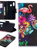 billige Samsung Case-Etui Til Samsung Galaxy A6 (2018) / A6+ (2018) / Galaxy A7(2018) Lommebok / Kortholder / med stativ Heldekkende etui Dyr / Tegneserie Hard PU Leather