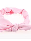 baratos Infantil Capéus e Bonés-Bébé Para Meninas Básico / Doce Sólido Estampado Acrílico Acessórios de Cabelo Rosa / Amarelo / Fúcsia Tamanho Único
