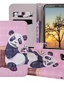 baratos Capinhas para Huawei-Capinha Para Huawei Huawei Nova 3i / Huawei Nova 4 / Huawei Honor 10 Carteira / Porta-Cartão / Com Suporte Capa Proteção Completa Panda Rígida PU Leather