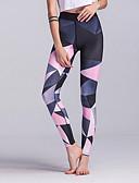 ราคาถูก จั๊มสูทและเสื้อคลุมสำหรับผู้หญิง-สำหรับผู้หญิง สูงกว่าปกติ กางเกงโยคะ Color Gradient Elastane วิ่ง เต้นรำ การออกกำลังกาย ถุงน่องการขี่จักรยาน เลกกิ้ง ชุดทำงาน ระบายอากาศ แห้งเร็ว Butt Lift Tummy Control ความยืดหยุ่นสูง สกินนี่
