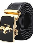 baratos Cintos Masculinos-Homens Trabalho / Básico Cinto para a Cintura Sólido