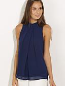 ราคาถูก เสื้อผู้หญิง-สำหรับผู้หญิง ขนาดพิเศษ เสื้อสตรี สีพื้น สีดำ