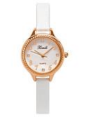 ราคาถูก นาฬิกาดิจิตอลสตรี-สำหรับผู้หญิง นาฬิกาควอตส์ นาฬิกาอิเล็กทรอนิกส์ (Quartz) สไตล์สมัยใหม่ สไตล์ PU Leather ดำ / สีขาว / สีชมพู 30 m นาฬิกาใส่ลำลอง น่ารัก ระบบอนาล็อก ไม่เป็นทางการ แฟชั่น - ขาว สีดำ สีแดงชมพู / หนึ่งปี