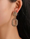 ราคาถูก ชุดเดรสพิมพ์ลาย-สำหรับผู้หญิง Drop Earrings สไตล์วินเทจ หล่น วินเทจ Punk อินเทรนด์ ต่างหู เครื่องประดับ สีทอง / สีเงิน / Rose Gold สำหรับ ของขวัญ ทุกวัน เทศกาลคานาวาล คลับ 1 คู่
