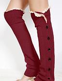 Χαμηλού Κόστους Κάλτσες & Καλσόν-Γυναικεία Sexy Θερμαντικά ποδιών Πολύ Ζεστό Σκούρο γκρι Χακί Ανοιχτό Γκρι Ένα Μέγεθος