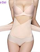 ราคาถูก ชุด-สำหรับผู้หญิง ลูกไม้ ชุดคอร์เซ็ตแบบอันเดอร์เบิร์ส - Plain, Tummy Control ผ้าขนสัตว์สีธรรมชาติ ขนาดเดียว