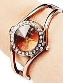 זול שעונים קוורץ-בגדי ריקוד נשים קווארץ אופנתי זהב ורד מתכת אל חלד קווארץ זהב ורד שעונים יום יומיים יחידה 1 אנלוגי שנה אחת חיי סוללה
