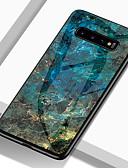 baratos Acessórios para Samsung-Capinha Para Samsung Galaxy S9 / S9 Plus / S8 Plus Antichoque / Estampada Capa traseira Mármore Rígida TPU / Vidro Temperado