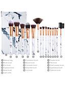 billige Sminkebørstesett-Profesjonell Makeup børster 15pcs Nytt Design Plast til Sminkebørste
