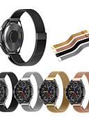 baratos Bandas de Smartwatch-Pulseiras de Relógio para Huawei Watch 2 Huawei Pulseira Esportiva / Pulseira Estilo Milanês Aço Inoxidável Tira de Pulso