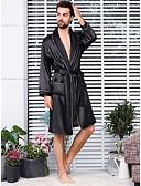 Χαμηλού Κόστους Εξωτικά ανδρικά εσώρουχα-Ανδρικά Μεγάλα Μεγέθη Φούστες - Μονόχρωμο Patchwork Μαύρο XXXL XXXXL XXXXXL / Λαιμόκοψη V / Φθινόπωρο / Sexy